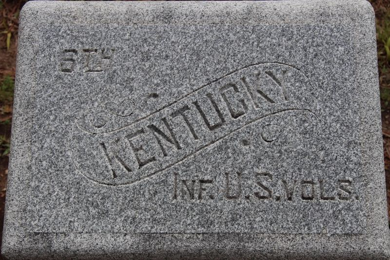 6th Kentucky Infantry Regiment (US Volunteers) Marker image. Click for full size.