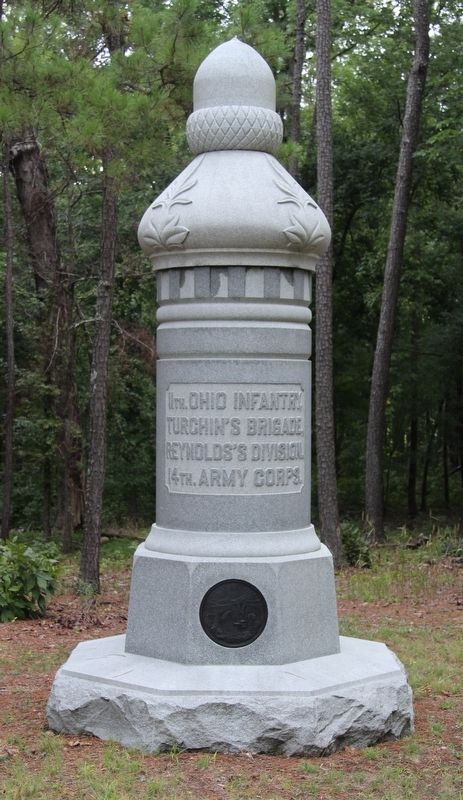 11th Ohio Infantry Marker image. Click for full size.