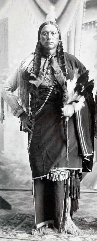 Quanah Parker image. Click for full size.