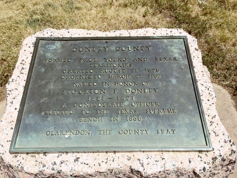 Donley County Marker image. Click for full size.