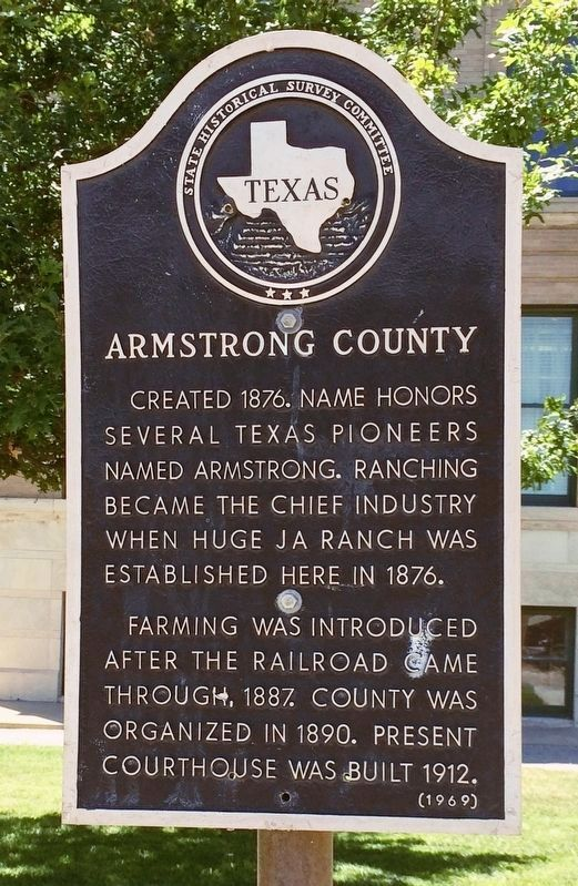 Armstrong County Marker image. Click for full size.