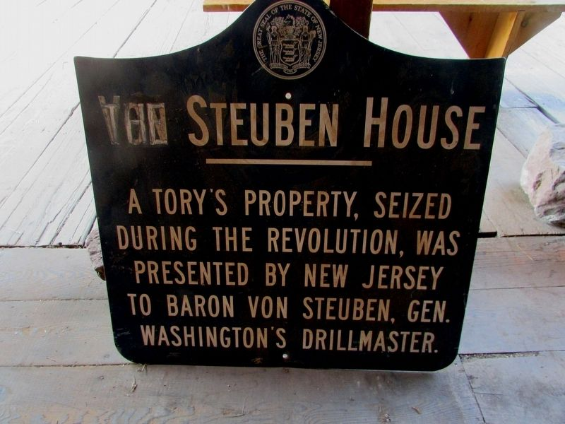 The (Von) Steuben House Marker image. Click for full size.