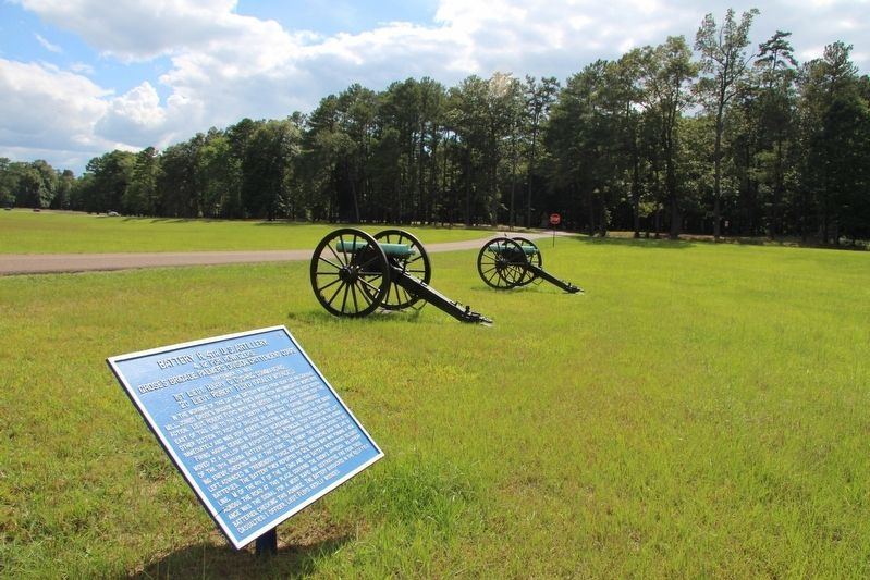 Battery H, 4th U. S. Artillery Marker image. Click for full size.