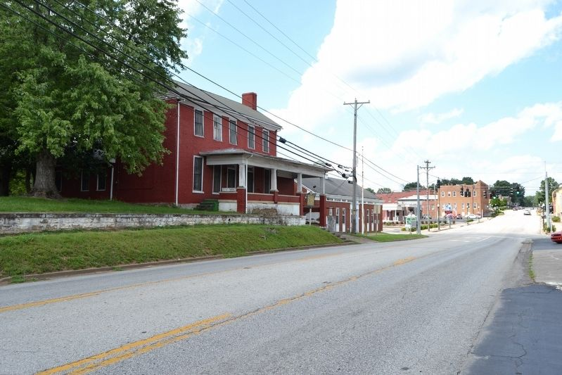 View to North Along S. Main Street Towards Downtown Greensburg image. Click for full size.