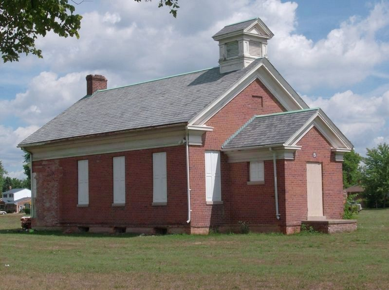 Nankin Schoolhouse image. Click for full size.