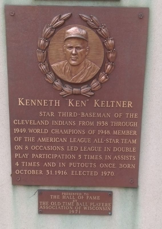 "Kenneth ""Ken"" Keltner Marker image. Click for full size."