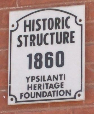 Historic Structure Plaque image. Click for full size.