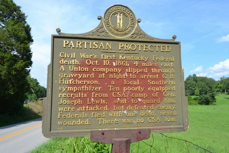 Partisan Protected Marker image. Click for full size.