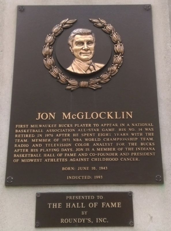Jon McGlocklin Marker image. Click for full size.