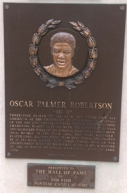 Oscar Palmer Robertson Marker image. Click for full size.