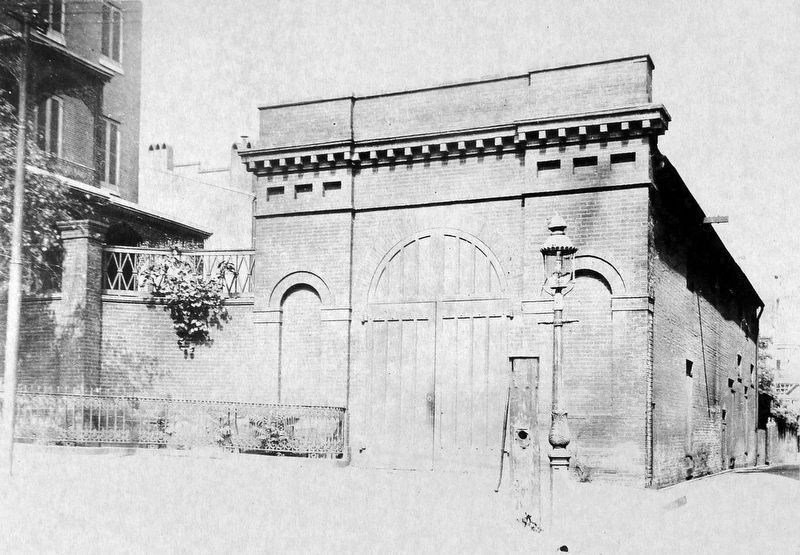 Enoch Pratt Carriage House 1916 image. Click for full size.
