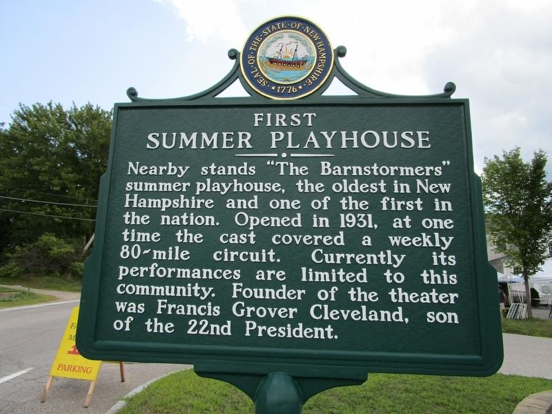 First Summer Playhouse Marker image. Click for full size.