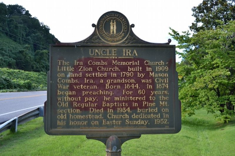 Uncle Ira Marker image. Click for full size.
