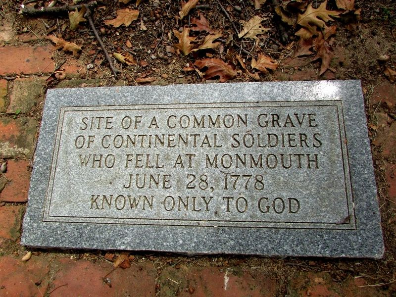 Continental Soldiers Grave Marker image. Click for full size.