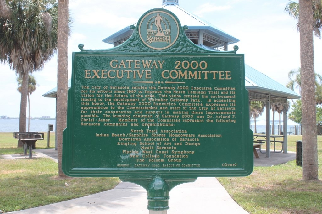 Whitaker Family/Gateway 2000 Executive Committee Marker Reverse