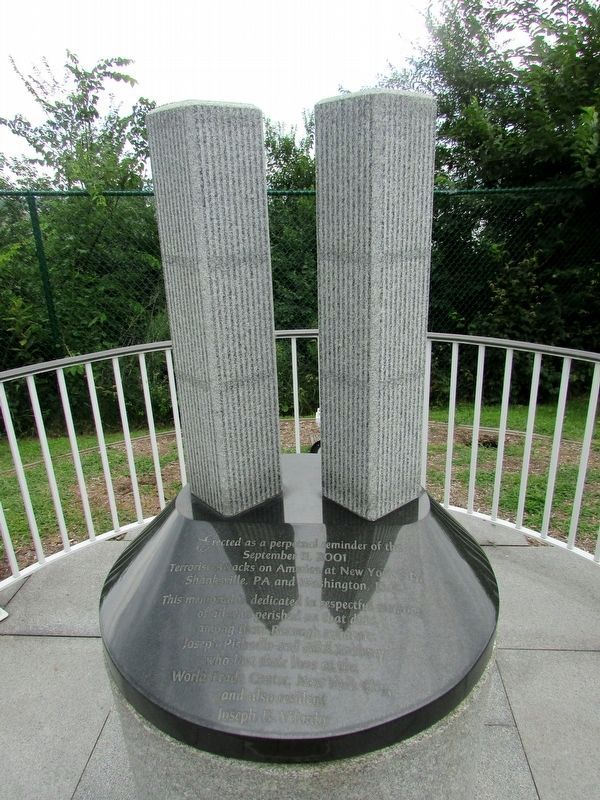 North Arlington 9/11 Memorial image. Click for full size.