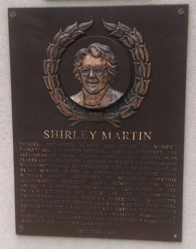 Shirley Martin Marker image. Click for full size.