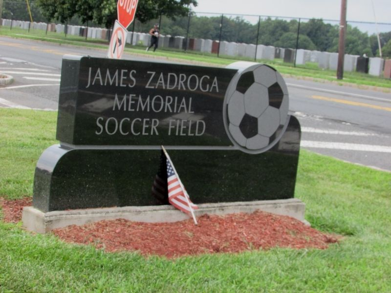 James Zadroga Memorial Soccer Field image. Click for full size.