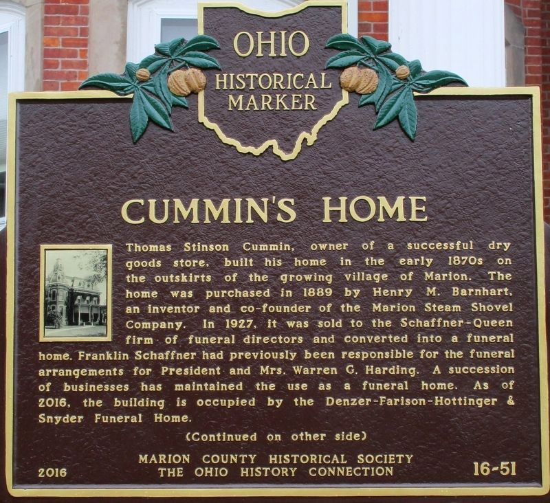 Cummins Home Marker image. Click for full size.