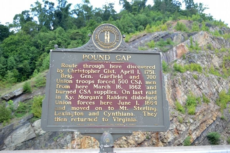 Pound Gap Marker image. Click for full size.