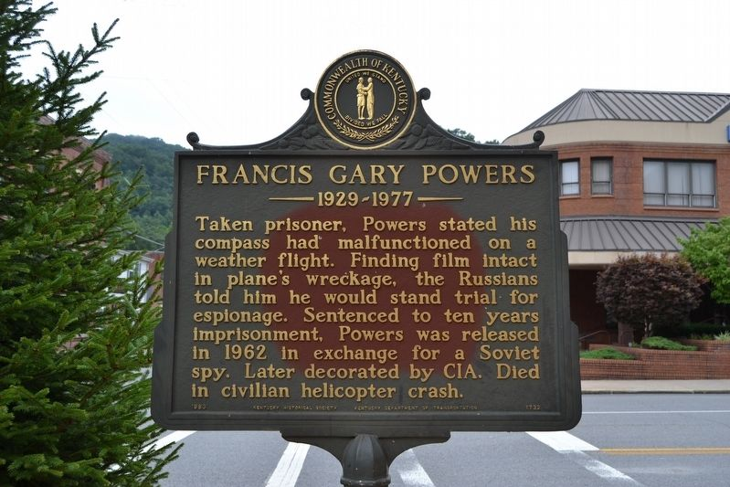 Pilot — Spy — Hero / Francis Gary Powers Marker image. Click for full size.