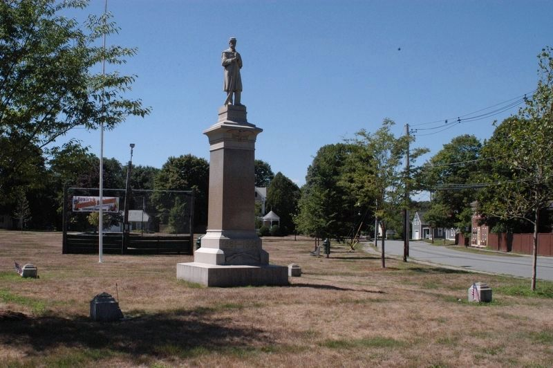 Rowley Massachusetts Civil War Memorial Marker image. Click for full size.
