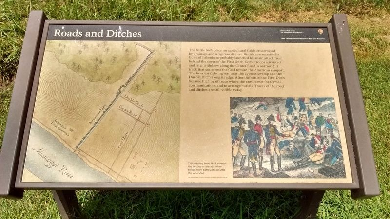 Roads and Ditches Marker image. Click for full size.