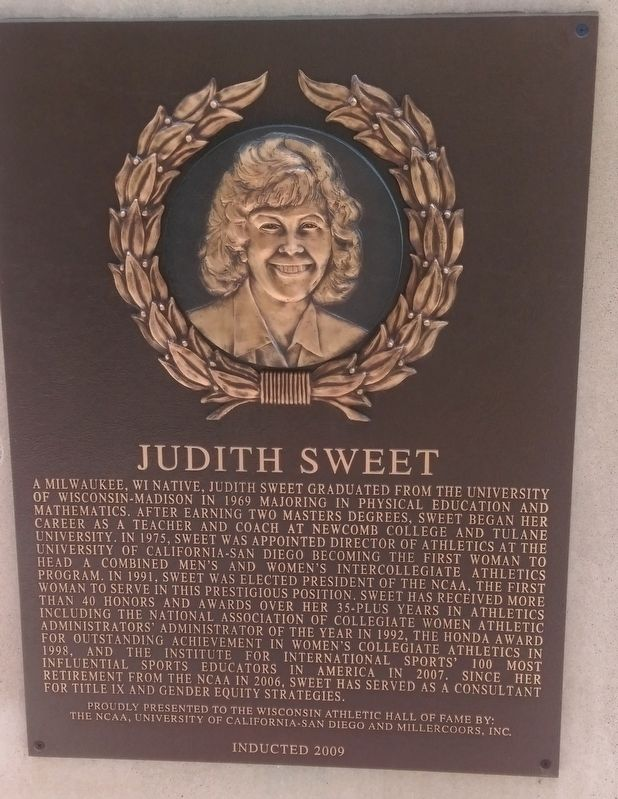 Judith Sweet Marker image. Click for full size.