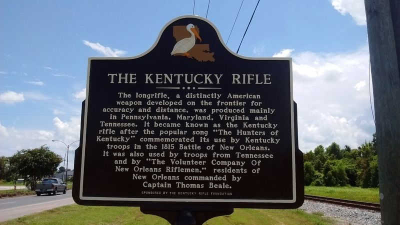 The Kentucky Rifle Marker image. Click for full size.