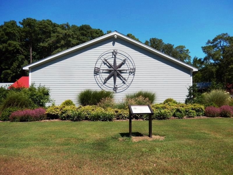 Compass Rose Marker image. Click for full size.