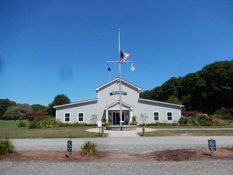 The front view of the Deltaville Maritime Museum image. Click for full size.