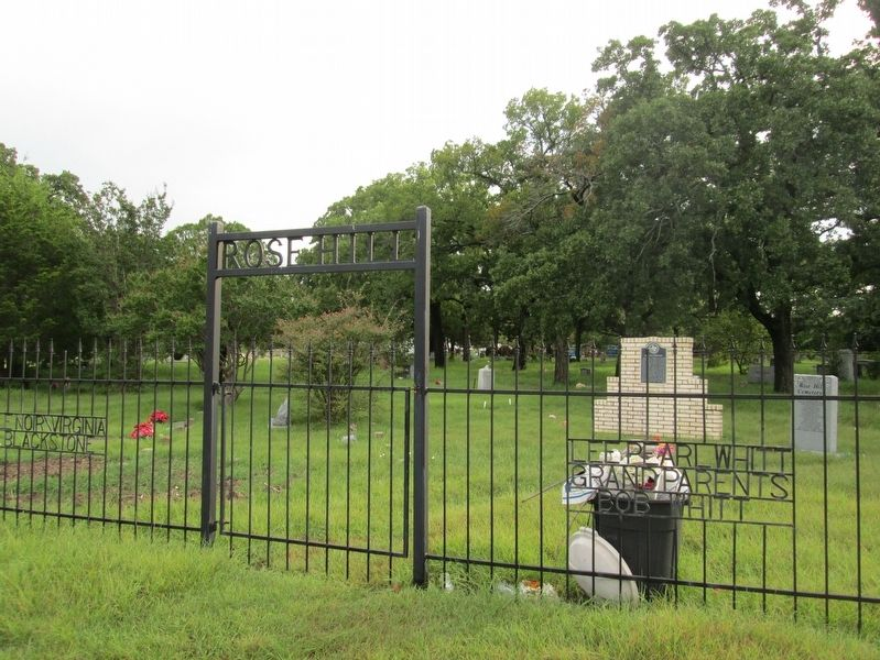 Rose Hill Cemetery image. Click for full size.