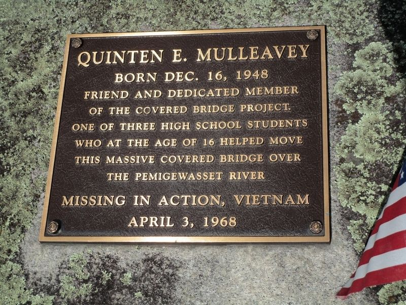 Quinten E. Mulleavey Memorial image. Click for full size.