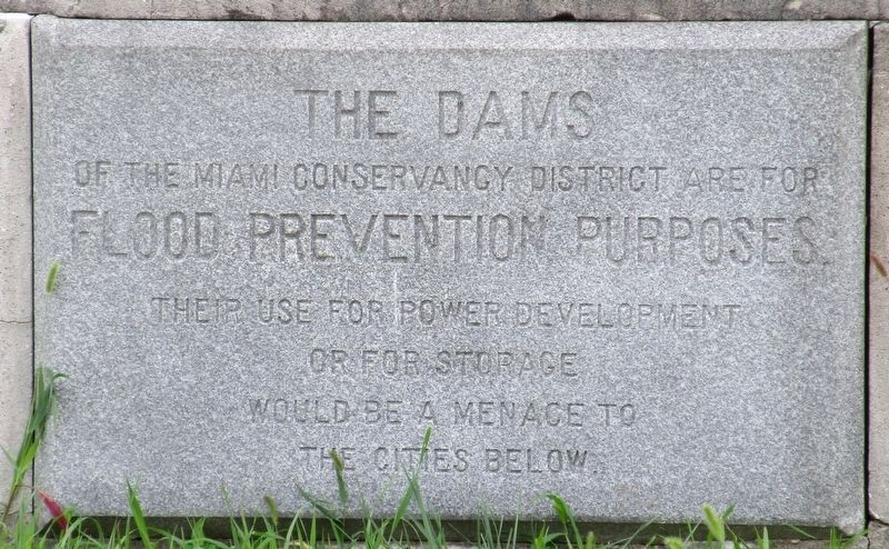 Germantown Dam Marker image. Click for full size.
