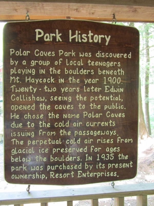 Park History Marker image. Click for full size.