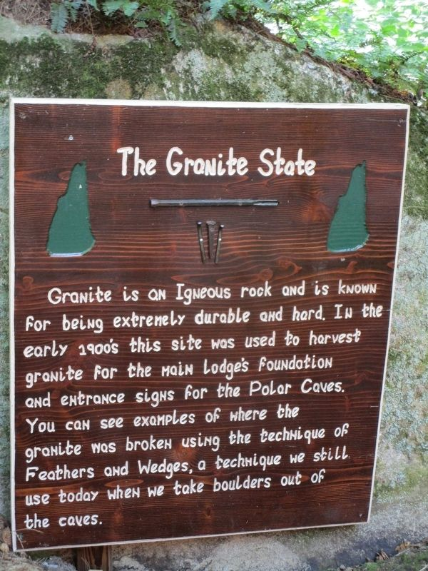 The Granite State Marker image. Click for full size.