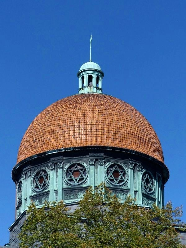 Eutaw Place Temple Dome image. Click for full size.