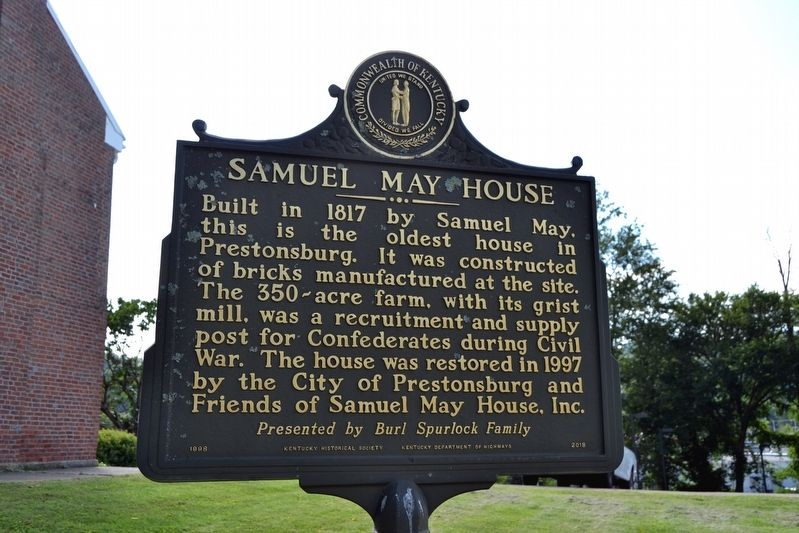 Samuel May / Samuel May House Marker image. Click for full size.
