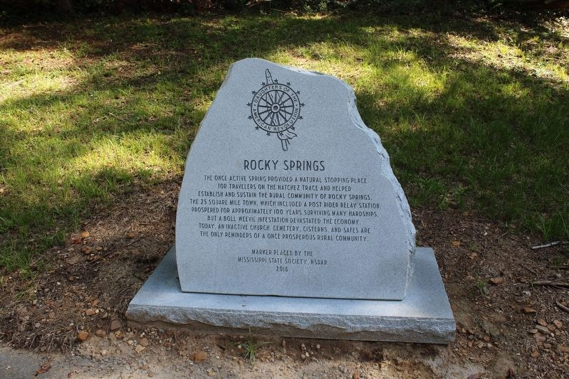 Rocky Springs Marker image. Click for full size.