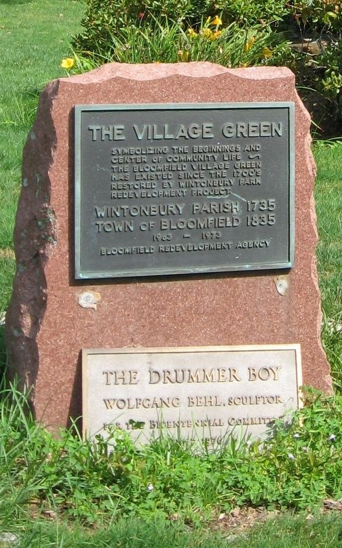 The Village Green Marker image. Click for full size.