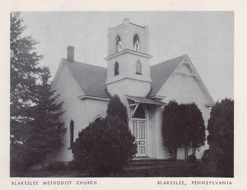 Blakeslee United Methodist Church image, Touch for more information