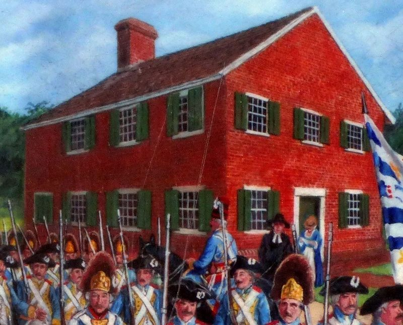 The Friends' Meeting House, 1781 image. Click for full size.