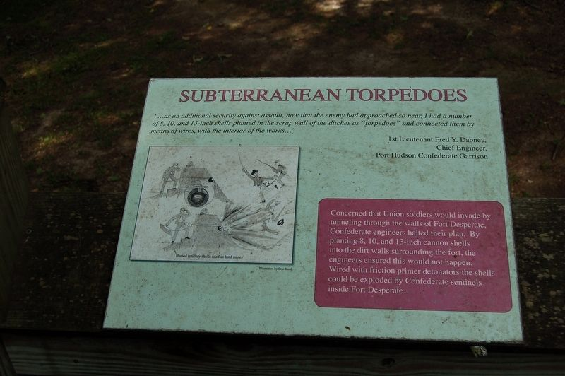 Subterranean Torpedoes Marker image. Click for full size.