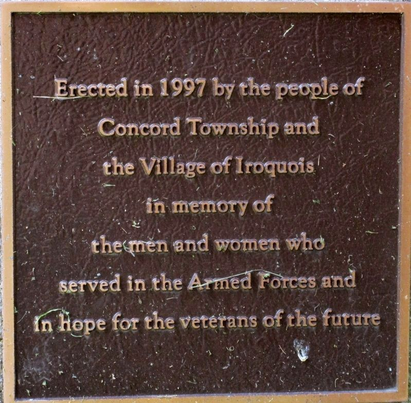 Concord Township Marker image. Click for full size.