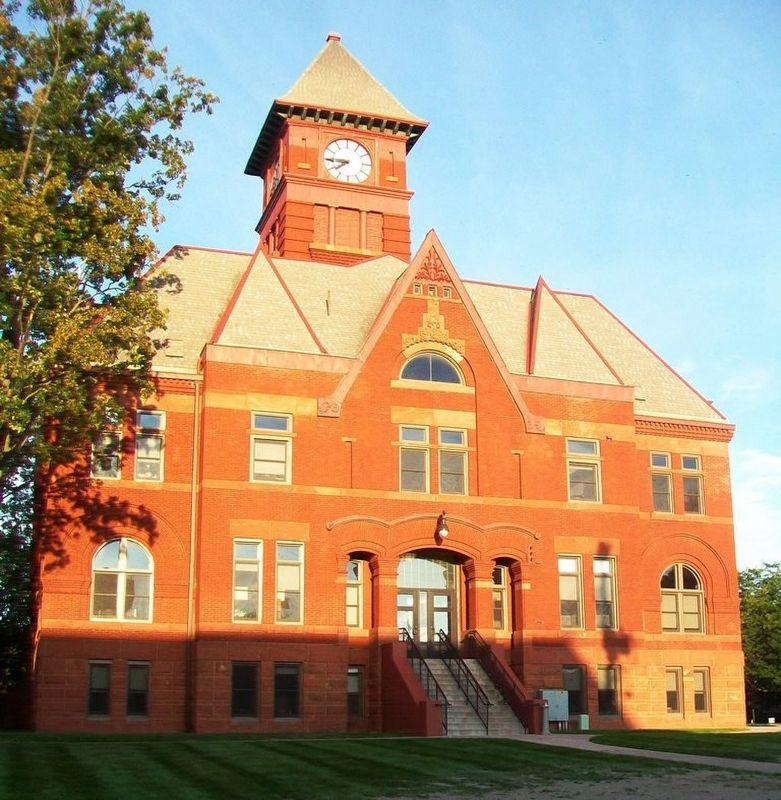Mason County Courthouse image. Click for full size.