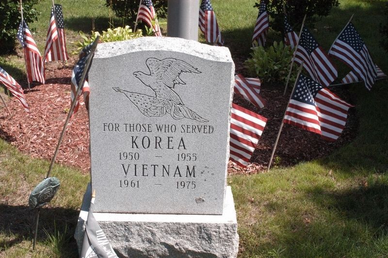 Saugus Korea/Vietnam Memorial Marker image. Click for full size.