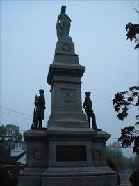 Saugus Massachusetts Memorial Marker image. Click for full size.
