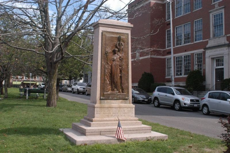 Immaculate Conception Parish War Memorial Marker image. Click for full size.