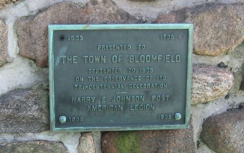 Roll of Honor Town of Bloomfield image. Click for full size.
