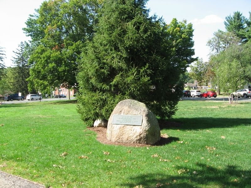 Site of Bloomfield Methodist Church Marker image. Click for full size.